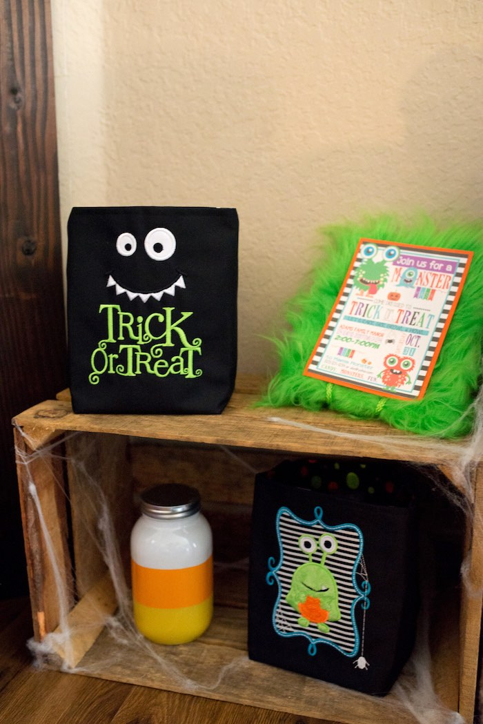 Details + decor from a Monster Mash Halloween Party on Kara's Party Ideas   KarasPartyIdeas.com (64)