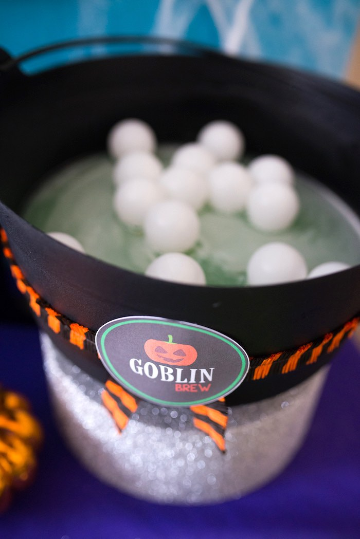 Goblin brew from a Monster Mash Halloween Party on Kara's Party Ideas   KarasPartyIdeas.com (47)