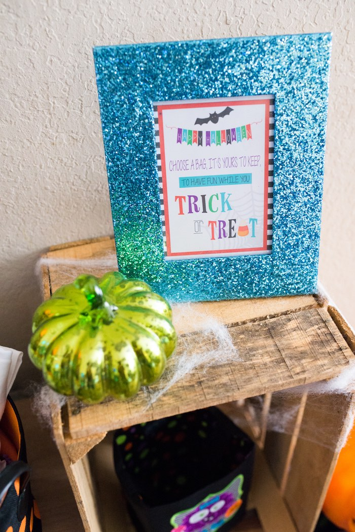 Party sign from a Monster Mash Halloween Party on Kara's Party Ideas   KarasPartyIdeas.com (67)