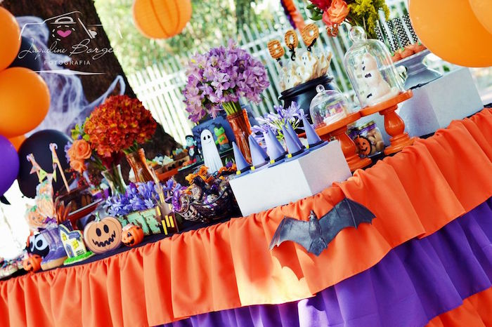 Orange + Purple & Black Halloween Party on Kara's Party Ideas | KarasPartyIdeas.com (60)