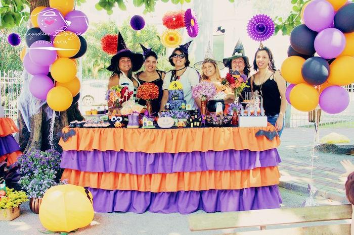 Orange + Purple & Black Halloween Party on Kara's Party Ideas | KarasPartyIdeas.com (73)