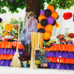 Orange + Purple & Black Halloween Party on Kara's Party Ideas | KarasPartyIdeas.com (2)