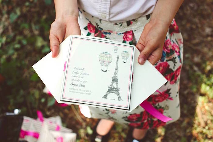 Karas party ideas parisian love outdoor picnic birthday party eiffel tower invitation from a parisian love outdoor picnic birthday party on karas party ideas filmwisefo