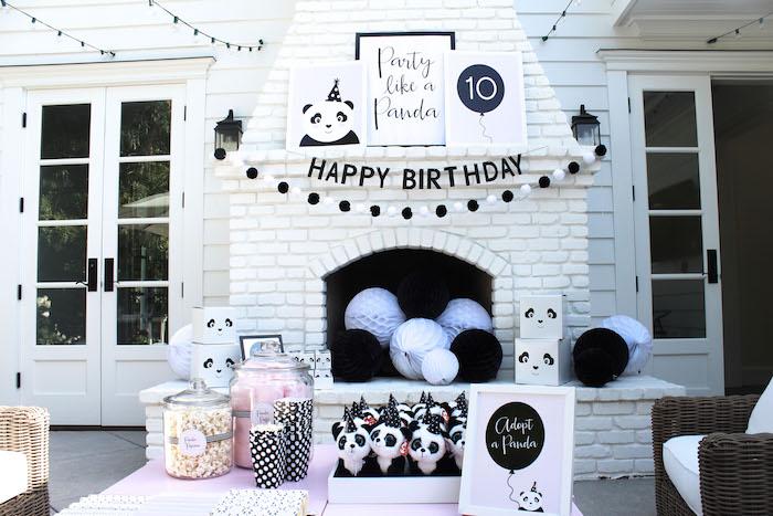 Party Like a Panda Birthday Party on Kara's Party Ideas | KarasPartyIdeas.com (40)