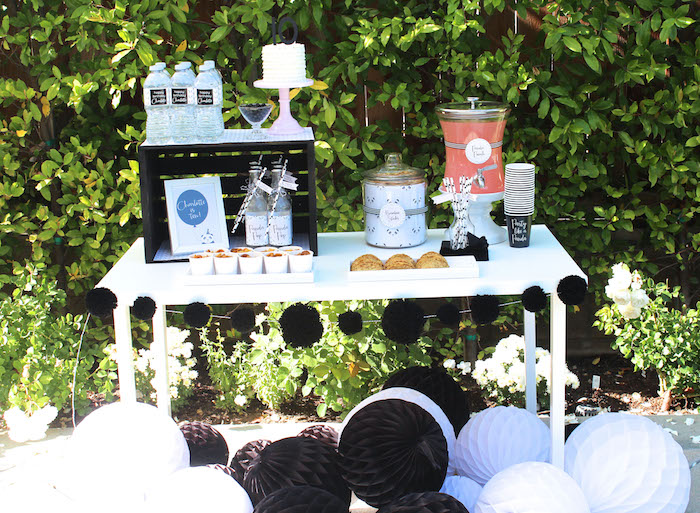 Beverage table from a Party Like a Panda Birthday Party on Kara's Party Ideas | KarasPartyIdeas.com (36)
