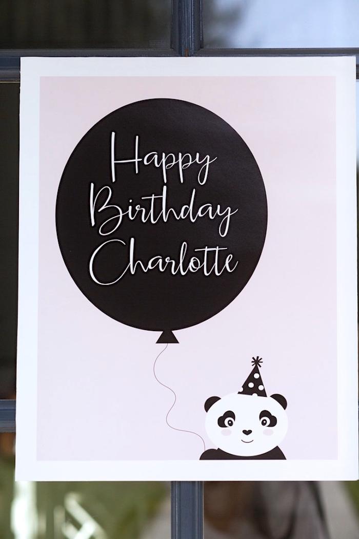 Kara S Party Ideas Party Like A Panda Birthday Party