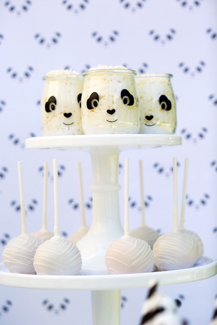 Sweets from a Party Like a Panda Birthday Party on Kara's Party Ideas | KarasPartyIdeas.com (26)