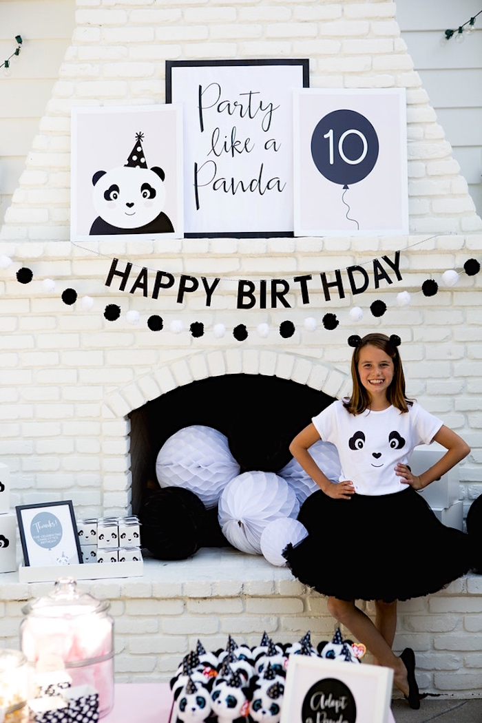 Party Like A Panda Birthday