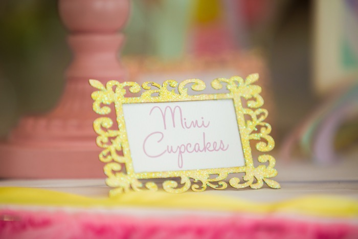 Sweet label from a Pastel Carousel Birthday Party on Kara's Party Ideas | KarasPartyIdeas.com (20)