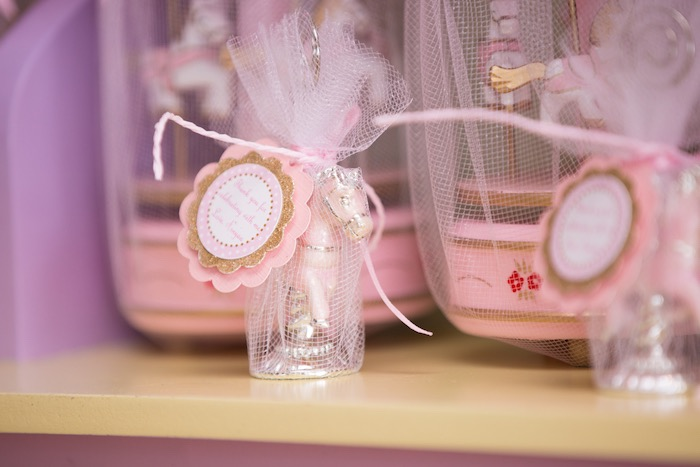 Favors from a Pastel Carousel Birthday Party on Kara's Party Ideas | KarasPartyIdeas.com (6)