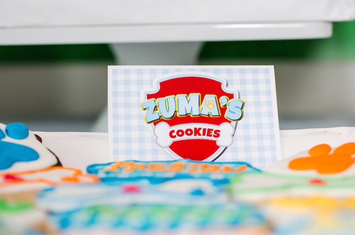 Paw Patrol sweet label from a Paw Patrol Birthday Party on Kara's Party Ideas | KarasPartyIdeas.com (24)