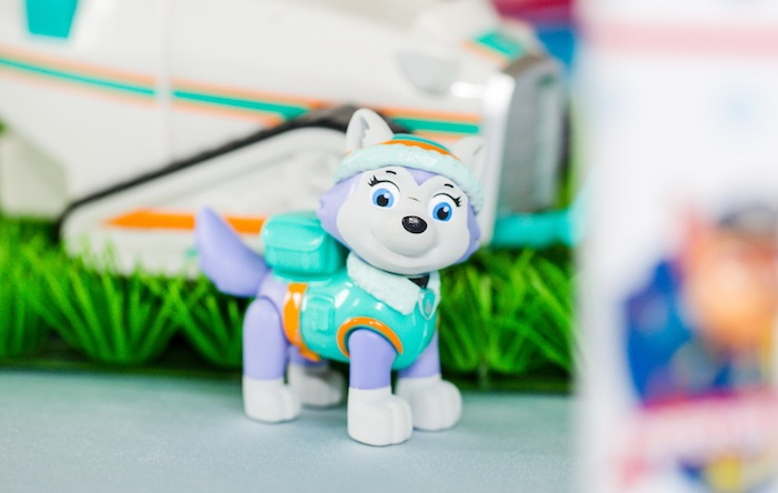 Everest toy prop from a Paw Patrol Birthday Party on Kara's Party Ideas | KarasPartyIdeas.com (20)