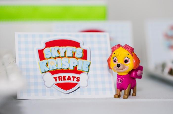Treat label from a Paw Patrol Birthday Party on Kara's Party Ideas | KarasPartyIdeas.com (18)