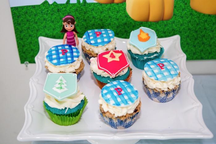 Cupcakes from a Paw Patrol Birthday Party on Kara's Party Ideas | KarasPartyIdeas.com (7)