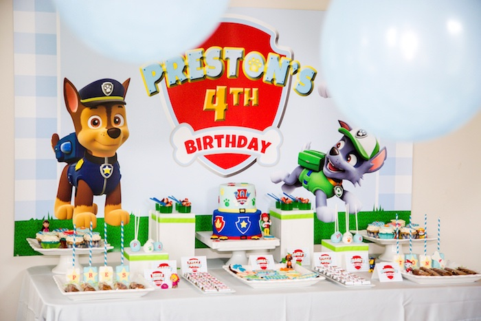 Paw Patrol Birthday Party on Kara's Party Ideas | KarasPartyIdeas.com (6)