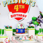 Paw Patrol Birthday Party on Kara's Party Ideas | KarasPartyIdeas.com (1)