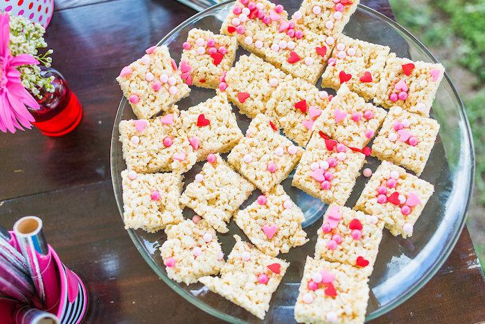 Rice Krispie Treats from a Peppa Pig Birthday Party on Kara's Party Ideas | KarasPartyIdeas.com (37)