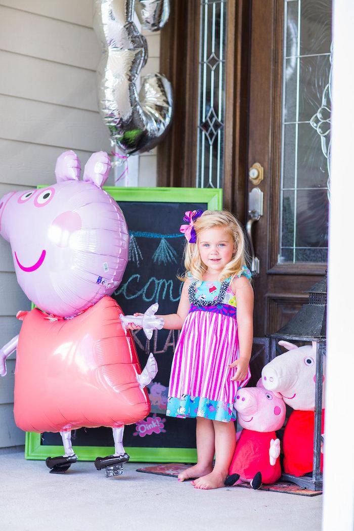Peppa Pig Birthday Party on Kara's Party Ideas | KarasPartyIdeas.com (32)