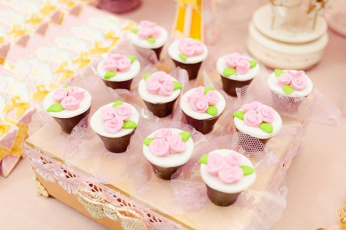 Desserts from a Pink Carousel Birthday Party on Kara's Party Ideas | KarasPartyIdeas.com (25)