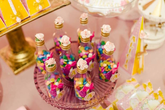 Favors from a Pink Carousel Birthday Party on Kara's Party Ideas | KarasPartyIdeas.com (9)