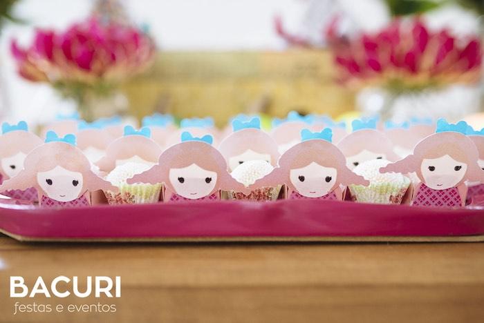 Rag doll favors + sweets from a Rag Doll Themed Birthday Party on Kara's Party Ideas | KarasPartyIdeas.com (24)