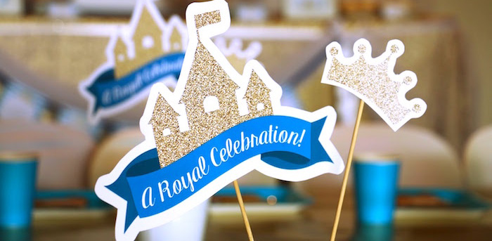 Royal Celebration Birthday Party on Kara's Party Ideas | KarasPartyIdeas.com (2)