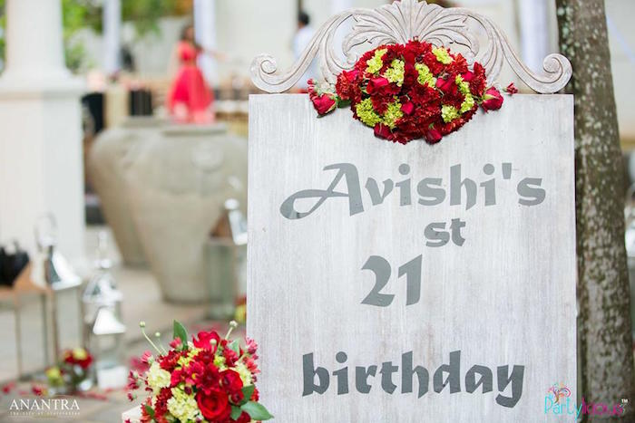 Rustic Vintage 21st Birthday Party on Kara's Party Ideas | KarasPartyIdeas.com (39)
