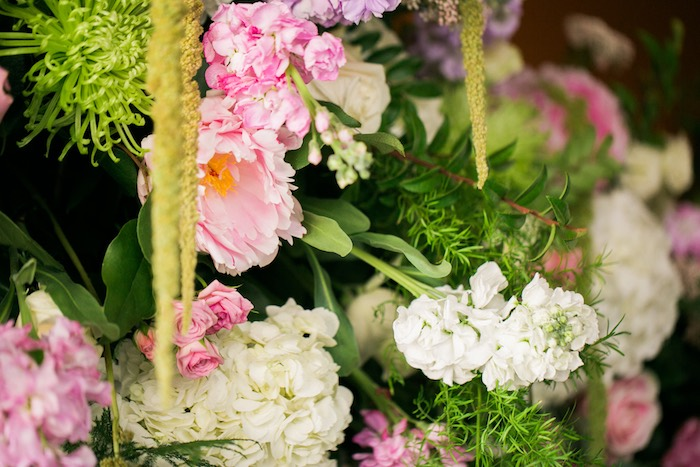 Fresh blooms from a Secret Garden Birthday Party on Kara's Party Ideas | KarasPartyIdeas.com (36)