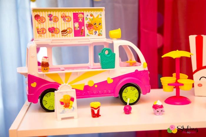 Shopkins ice cream truck toy from a Shopkins Birthday Party on Kara's Party Ideas | KarasPartyIdeas.com (21)