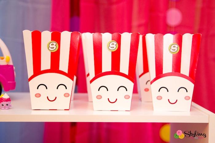 Poppy Corn popcorn boxes from a Shopkins Birthday Party on Kara's Party Ideas | KarasPartyIdeas.com (20)