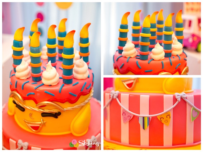 Wishes, Shopkins cake detail from a Shopkins Birthday Party on Kara's Party Ideas | KarasPartyIdeas.com (9)