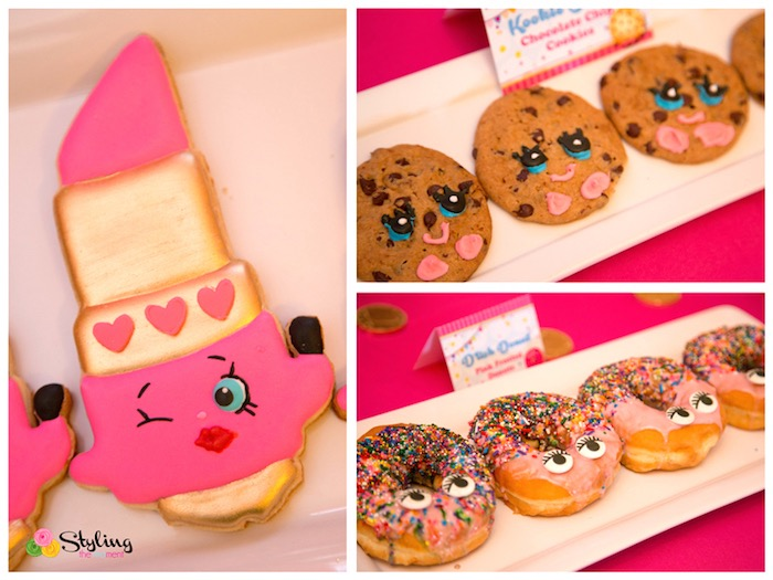 Karas Party Ideas Cookies amp Doughnuts From A Shopkins