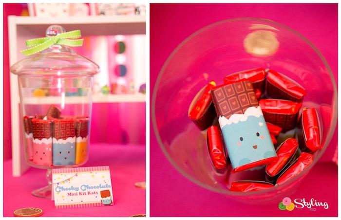 Chocolate bars from a Shopkins Birthday Party on Kara's Party Ideas | KarasPartyIdeas.com (7)