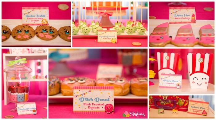Shopkins Sweets from a Shopkins Birthday Party on Kara's Party Ideas | KarasPartyIdeas.com (6)