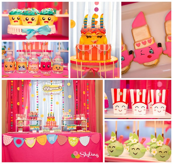 Shopkins Birthday Party on Kara's Party Ideas | KarasPartyIdeas.com (5)