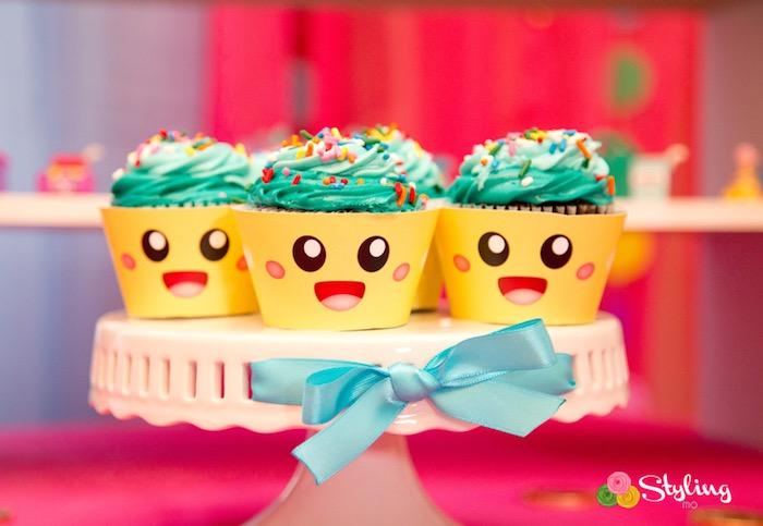 Cupcake Queen cupcakes from a Shopkins Birthday Party on Kara's Party Ideas | KarasPartyIdeas.com (28)