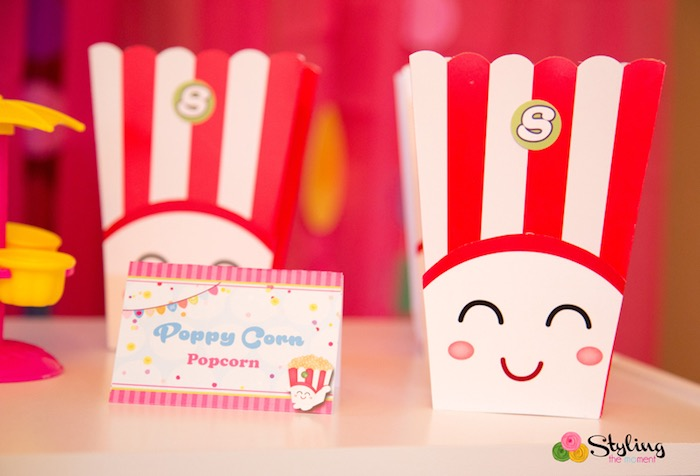 Poppy Corn, popcorn from a Shopkins Birthday Party on Kara's Party Ideas | KarasPartyIdeas.com (25)