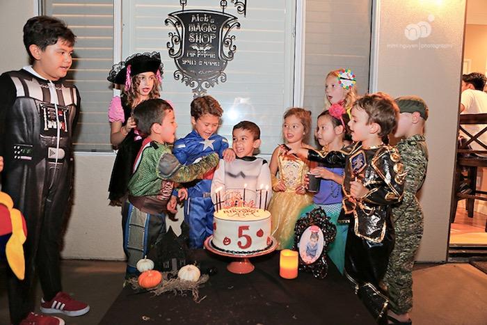 Spooky Halloween Inspired Birthday Party on Kara's Party Ideas | KarasPartyIdeas.com (5)