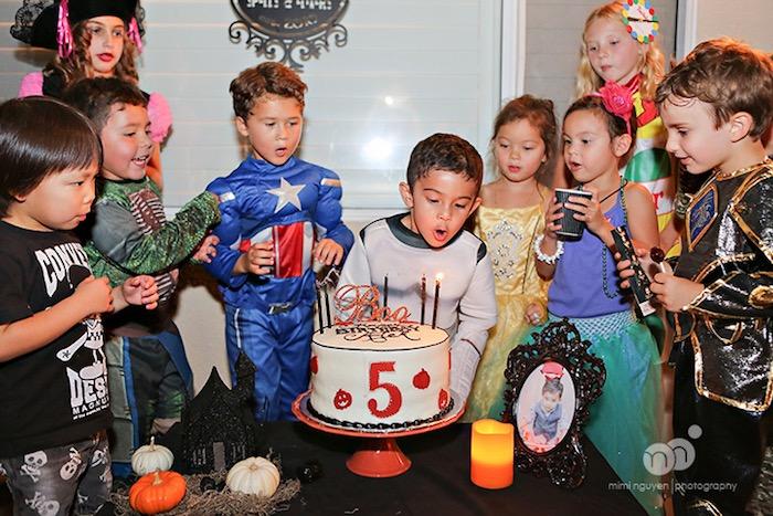 Spooky Halloween Inspired Birthday Party on Kara's Party Ideas | KarasPartyIdeas.com (4)