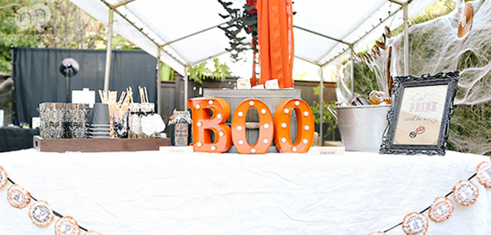 Spooky Halloween Inspired Birthday Party on Kara's Party Ideas | KarasPartyIdeas.com (3)