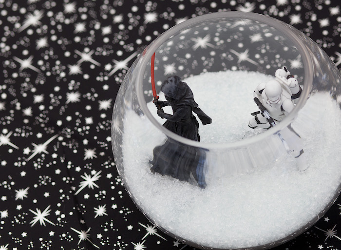 Star Wars table centerpiece from a Star Wars Birthday Party on Kara's Party Ideas | KarasPartyIdeas.com (25)