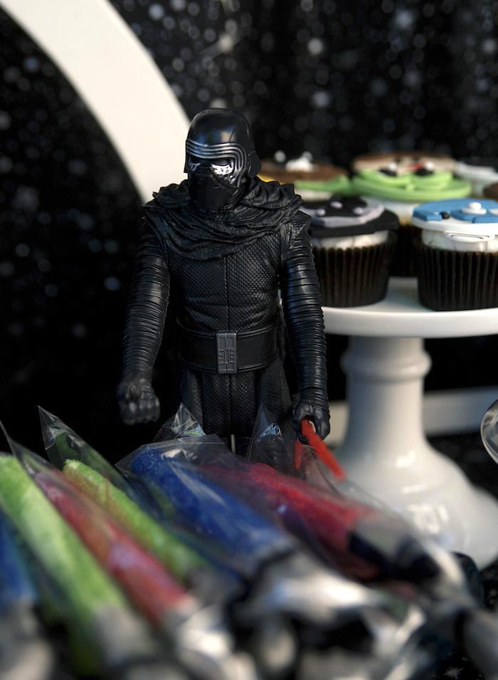 Figurine from a Star Wars Birthday Party on Kara's Party Ideas | KarasPartyIdeas.com (15)