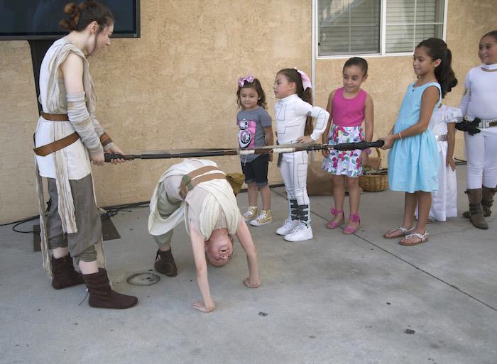 Jedi training games from a Star Wars Birthday Party on Kara's Party Ideas | KarasPartyIdeas.com (13)