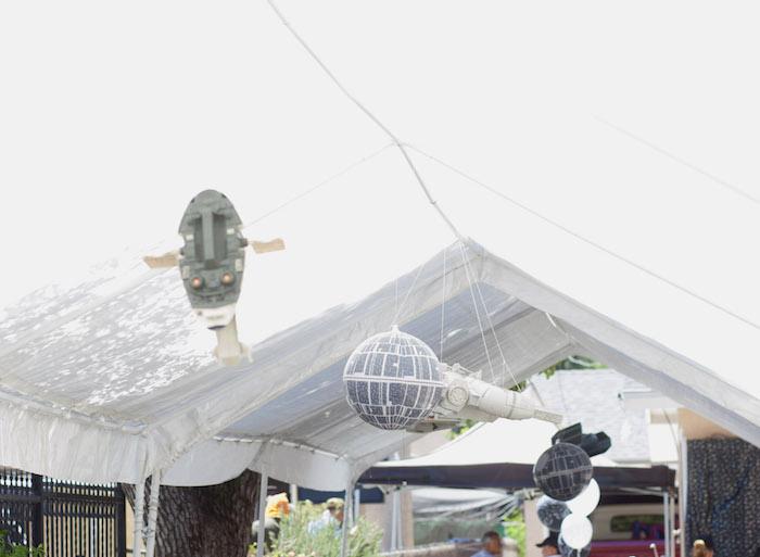 Tentscape from a Star Wars Birthday Party on Kara's Party Ideas | KarasPartyIdeas.com (5)