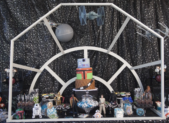 Star Wars Birthday Party on Kara's Party Ideas | KarasPartyIdeas.com (4)