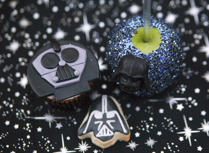 Darth Vader sweets from a Star Wars Birthday Party on Kara's Party Ideas | KarasPartyIdeas.com (31)