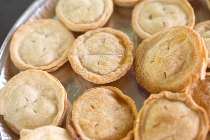 Mini pies from a Summer Camp + Camping Birthday Party on Kara's Party Ideas | KarasPartyIdeas.com (35)