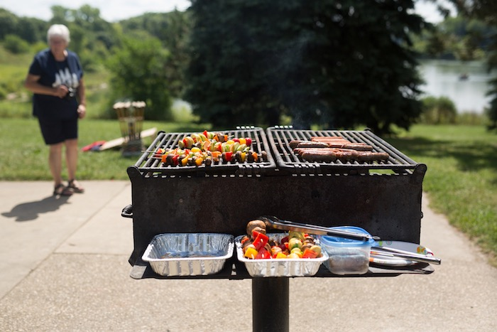 Grill from a Summer Camp + Camping Birthday Party on Kara's Party Ideas | KarasPartyIdeas.com (30)