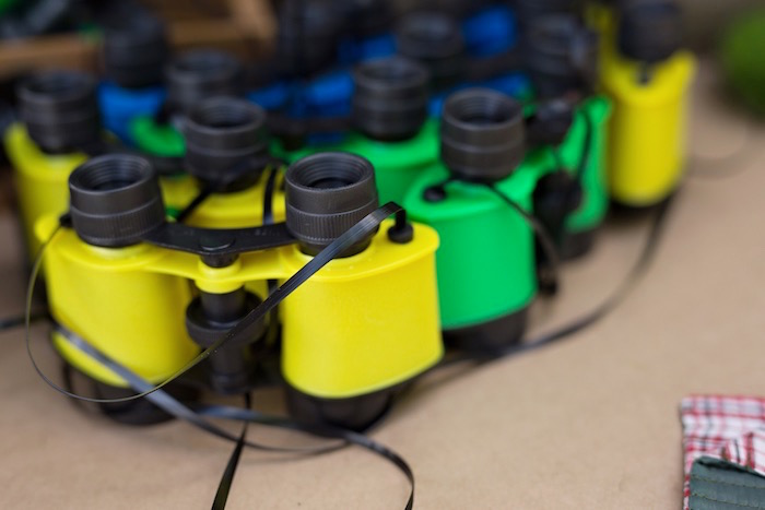 Binocular favors from a Summer Camp + Camping Birthday Party on Kara's Party Ideas | KarasPartyIdeas.com (36)