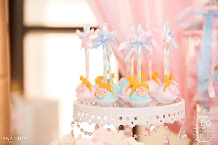 Kara S Party Ideas Sweet Carousel Birthday Party Kara S